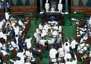 govt moves motion in ls to suspend 11 mps...