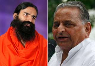 mulayam extends support to ramdev on black money...