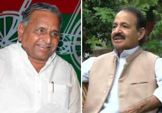 mulayam is a bjp agent says congress spokesman...