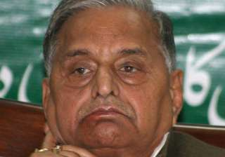 mulayam rejects reports of secret deal with...