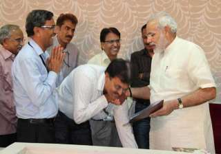 narendra modi s guidelines for mps do research...