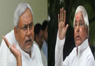 nitish thanks lalu for support appeals for unity...