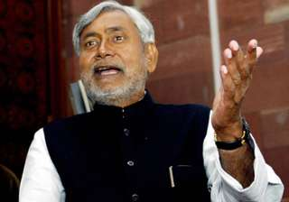 nitish accuses upa of indulging in give and take...
