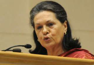no poor in india will remain hungry sonia gandhi...