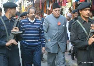 pdp activists protest over farooq s comment on...