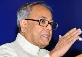 pranab to file four sets of nomination on...