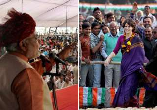 congress denies report about priyanka to campaign...