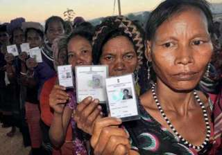 protests over tribal refugees voting in mizoram...