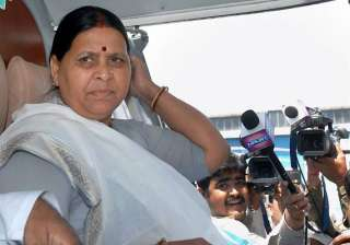 rabri devi to be rjd candidate for legislative...