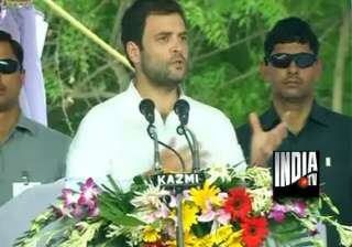 rahul gandhi indian farmers are suffering indeed...
