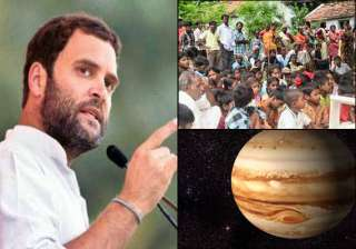 rahul gandhi propounds escape velocity theory for...