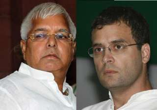 rahul gandhi reluctant to share election dais...
