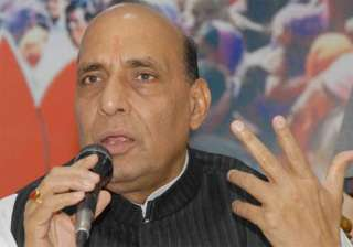 rajnath to file nominations on april 7 - India TV