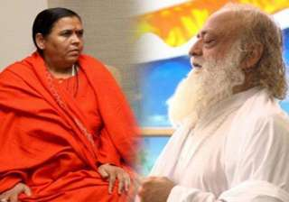rape charge bjp leader uma bharti defends asaram...