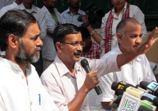 revolt in aap members allege hijack of party by...
