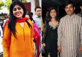shahnawaz hussain and reena just made for each...