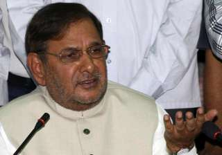 sharad yadav flays vhp for threatening up govt on...