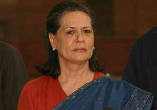 sonia gandhi authorised to choose presidential vp...
