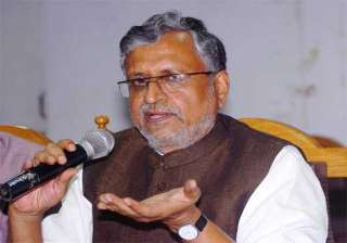 sushil plays up divergent views of manjhi nitish...