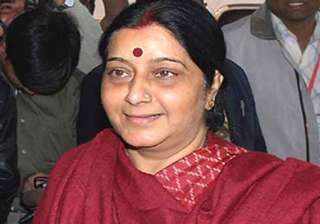 sushma swaraj opposes mining barons party merger...