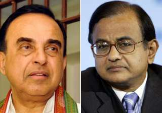 swamy says chidambaram is a shameless person -...