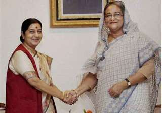 swaraj leaves for home after bangladesh visit -...