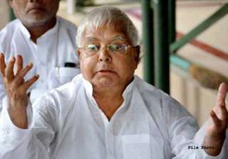 time for alliance with congress has ended lalu...