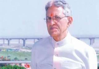 up governor b l joshi resigns - India TV