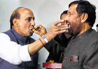 why paswan has returned to nda fold after 12...