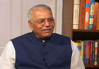 yashwant sinha continues sit in - India TV