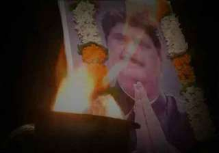 in pics final journey of gopinath munde - India TV