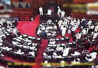 opposition forces rs adjournment till noon on...
