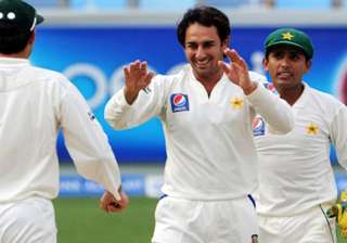 ajmal also a challenge for akmal behind the...