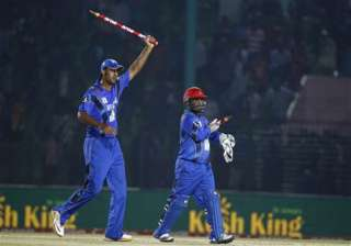 asia cup afghanistan script history beat...