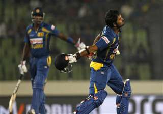 asia cup malinga and thirimanne guide sri lanka...