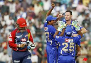 rajasthan beat delhi by 6 wickets in ipl - India...