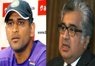 dhoni is answerable for lying to probe panel...