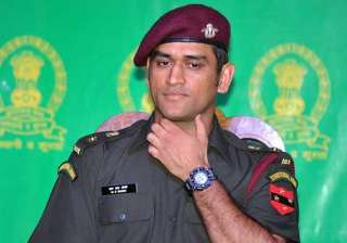 dhoni wants to serve army after cricket - India TV