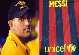 fifa fever dhoni gears up for the biggest soccer...