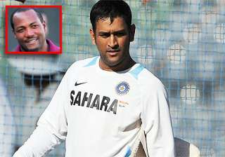 give dhoni another chance says brian lara - India...
