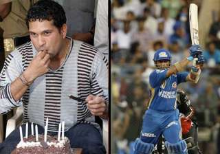 happy birthday sachin - India TV