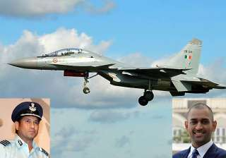 iaf to fly dhoni in a su 30 mki - India TV