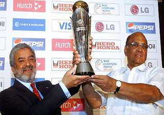 no icc champions trophy after 2013 - India TV