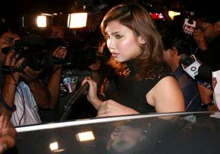 icc official questions bollywood starlet on...
