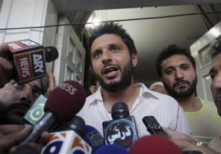 i have been quoted out of context afridi - India...