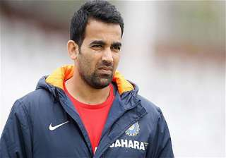 india aus odi zaheer khan may make a comeback -...