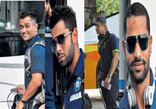 india australia teams arrive in chandigarh for...