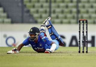 3rd odi abandoned after another indian batting...