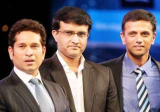 tendulkar dravid ganguly to find indian cricket...