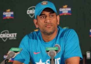 i don t think we batted well dhoni - India TV